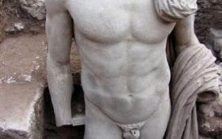 ΕΠΙΔΑΥΡΟΣ :  Βρέθηκε άγαλμα ρωμαϊκών χρόνων