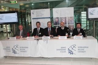 Παρουσίαση του έργου του Διεθνούς Πανεπιστημίου Ελλάδος και νέων μεταπτυχιακών