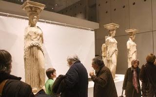 ΒΙΕΝΝΗ :Οι Καρυάτιδες έφεραν βραβείο στο Μουσείο Ακρόπολης