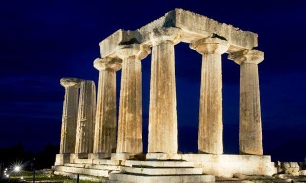 Η λάμψη του Απόλλωνα στην αρχαία Κόρινθο