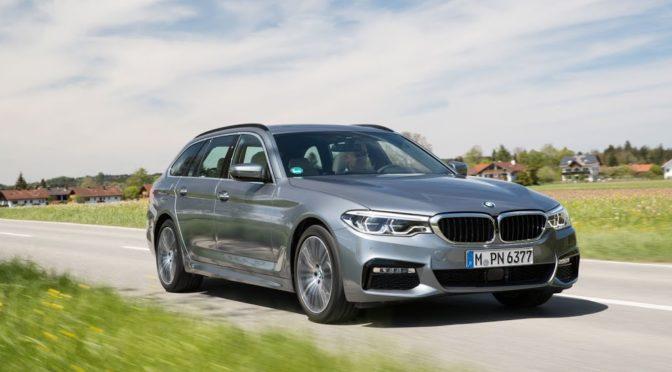 Οδηγούμε τη 2017 BMW Series 5 Touring